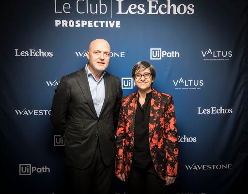 CLUB LES ECHOS PROSPECTIVE AVEC CATHERINE GUILLOUARD - PIERRE LOUETTE
