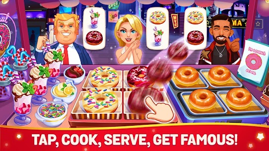 Cooking Dream MOD (Free Shopping) 1