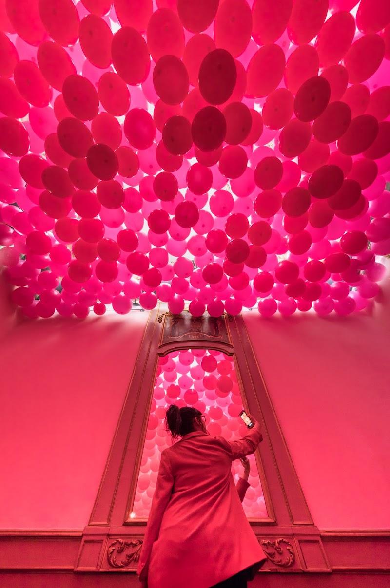 Pink selfie di Marco Tagliarino