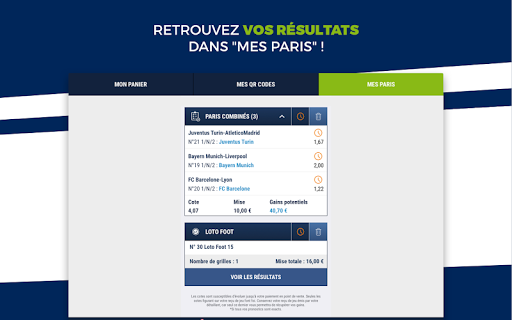 ParionsSport Point De Vente 5.13.1 screenshots 12