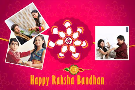 रक्षाबंधन Rakhi - Raksha bandhan Photo Frame - náhled