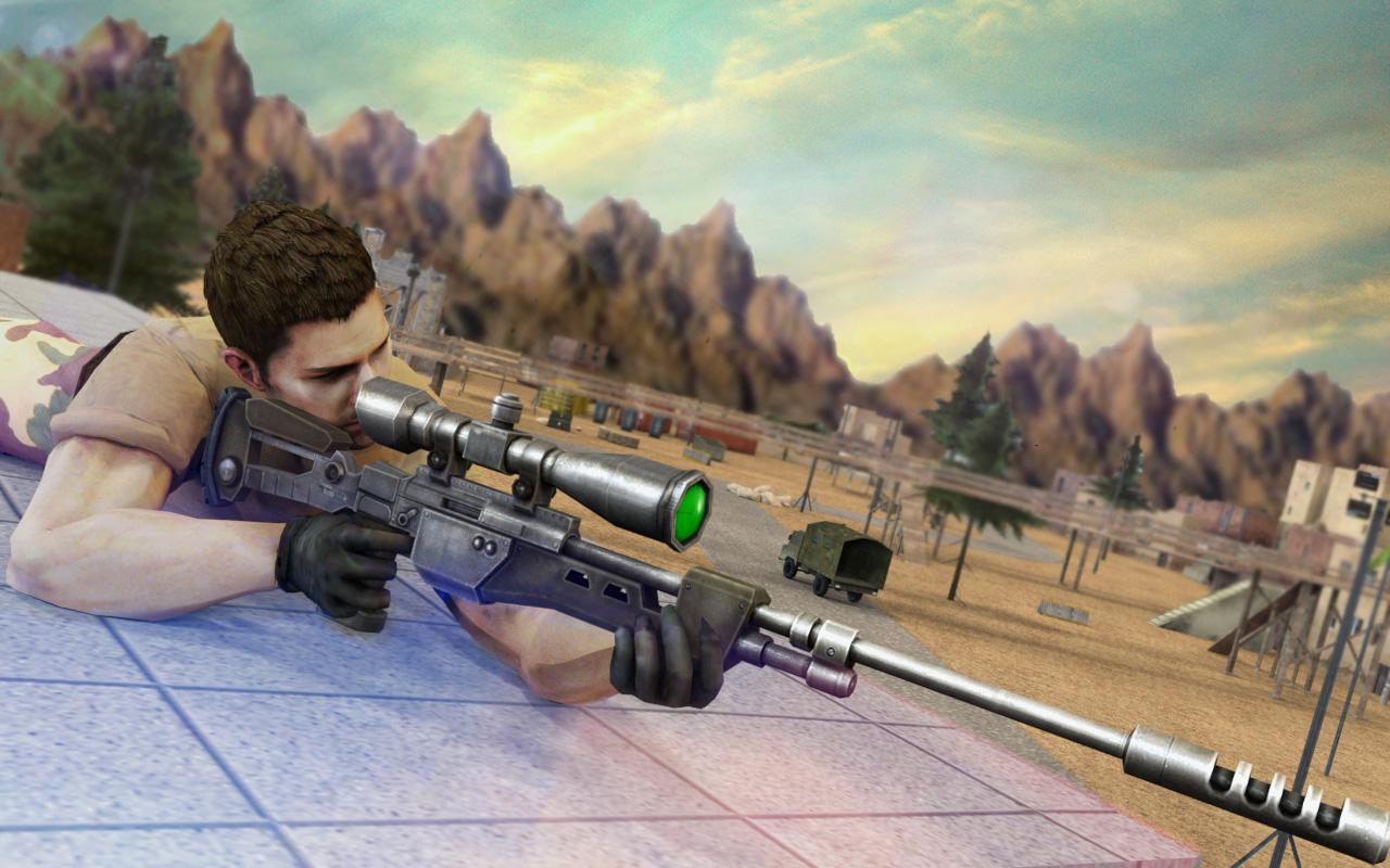 Elite Sniper Commando Shooter: War Hero Survival- screenshot