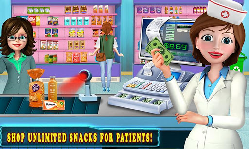 Télécharger Hôpital caisse enregistreuse caissier Jeux filles APK MOD (Astuce) screenshots 1
