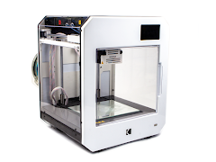 Kodak Portrait Fully Enclosed Dual Extrusion 3D Printer