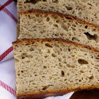 Overnight Country Sourdough Bread.