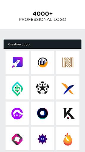 Logo Maker - Pro Logo Creator  screenshots 1