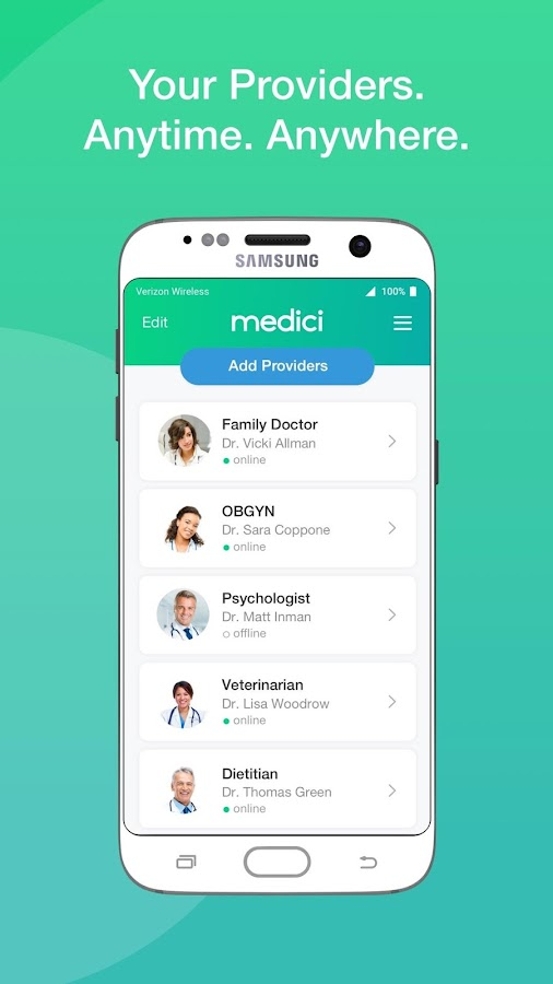 Medici- screenshot