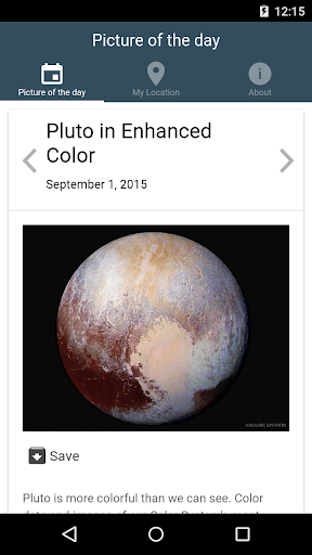 Pictures from Nasa