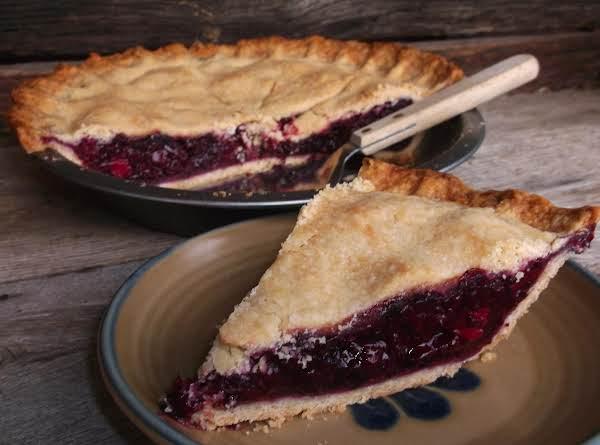 Wild Blackberry Pie