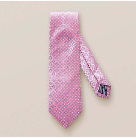 ETON rosa blomvävd slips