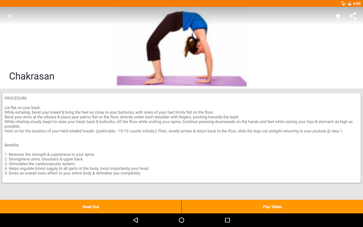 Yoga For All- screenshot