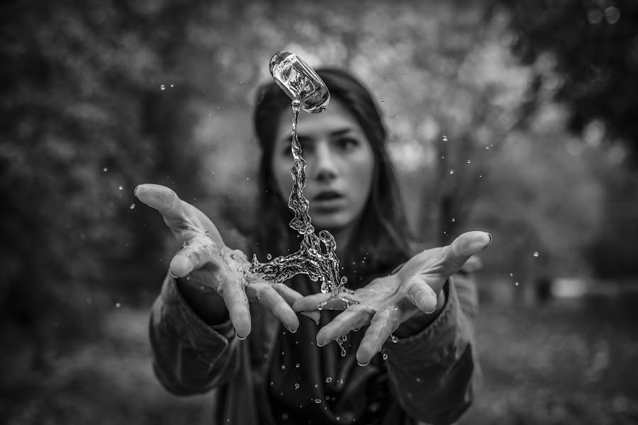 Grow by Kyle Re - Artistic Objects Other Objects ( water, macro, highspeed, fineart, splash, black and white, hands, woman, glass, focus, people,  )