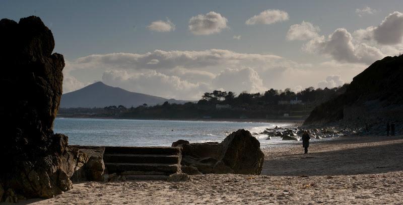 Photo: Hawk Cliff on Killiney Beach
