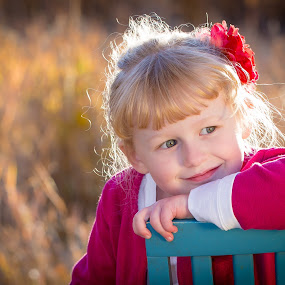 Smile by Richard States - Babies & Children Child Portraits ( child, backlit, smile, bokeh, portrait,  )