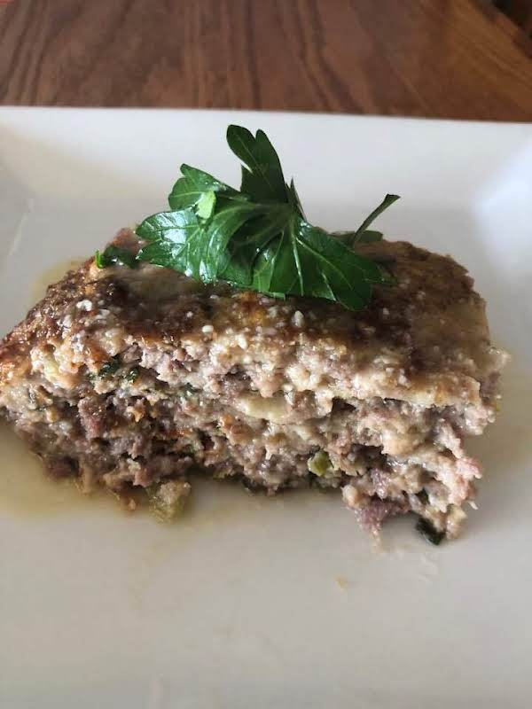 Meatloaf With Garlic Sauce Recipe