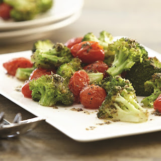Garlic Roasted Broccoli and Tomatoes