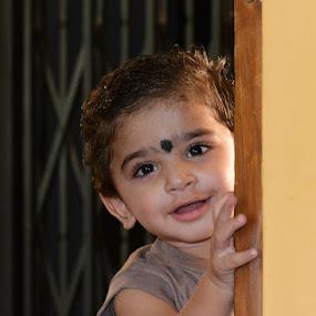 PEEK- A- BOO!!!! by Prasanna AV - Babies & Children Children Candids