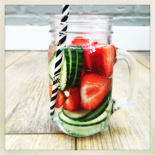 Strawberry Cucumber Water Recipes