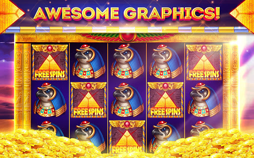 Pharaohs of Egypt Slots u2122 Free Casino Slot Machine 1.45.4 screenshots {n} 7