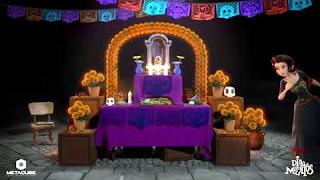Un altar de muertos