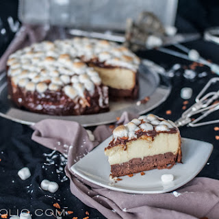 Marshmallow Cheesecake.