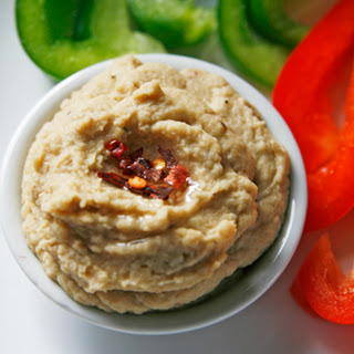 Roasted Garlic, Lemon and Walnut Hummus (Eat. Live. Be.)