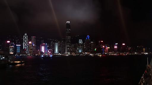 View towards Victoria Harbour from Tsim Tsha Tsui