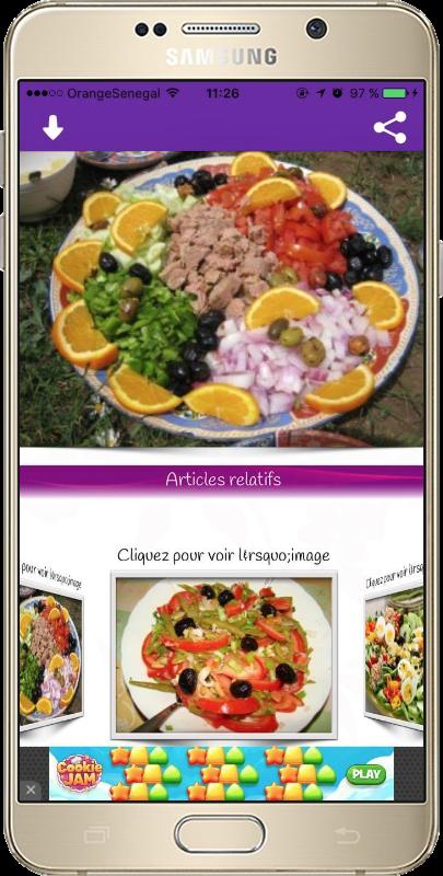 Cuisine de chez nous android apps on google play - Amour cuisine chez sihem ...