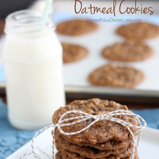 Gingersnap Oatmeal Cookies
