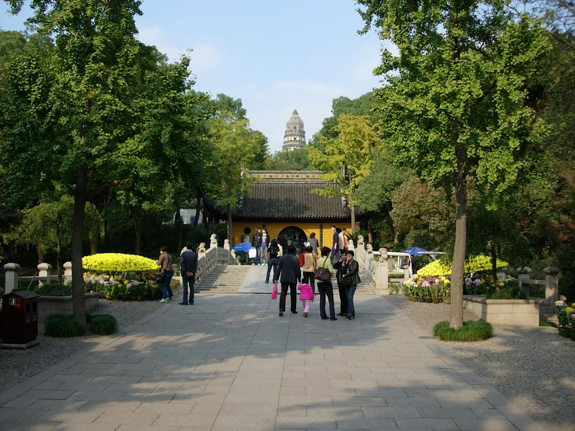 Colline du Tigre à Suzhou