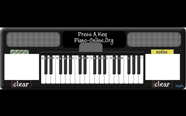 Piano Online Virtual Piano App