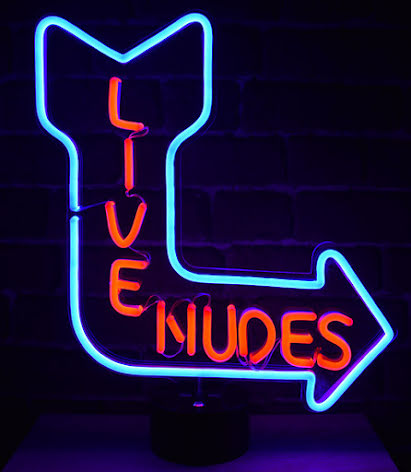 Live Nudes Bordslampa