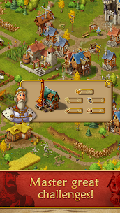 Townsmen Premium (MOD, Unlimited Gold/Crowns) 4