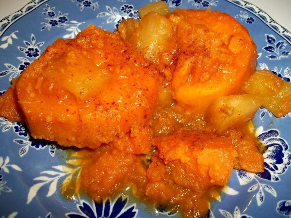Moms Candied Sweet Potatoes & Pineapple Recipe