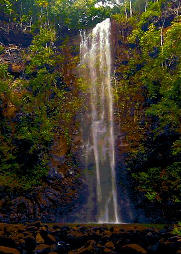 Nature Waterfall Free LWP