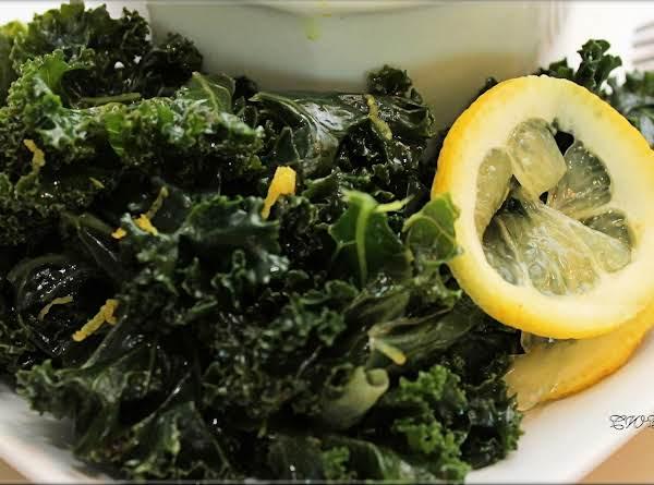 Lemon Pepper Kale