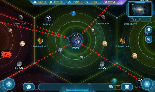 Galaxy Clash: Evolved Empire  screenshots 3