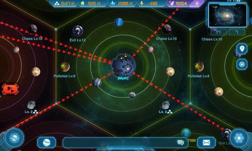 Galaxy Clash: Evolved Empire screenshots 3