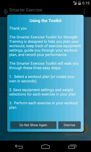 Smarter Exercise Toolkit