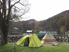 Photo: 5名用テント1泊レンタル 4,320円 2種類 用意しました!!