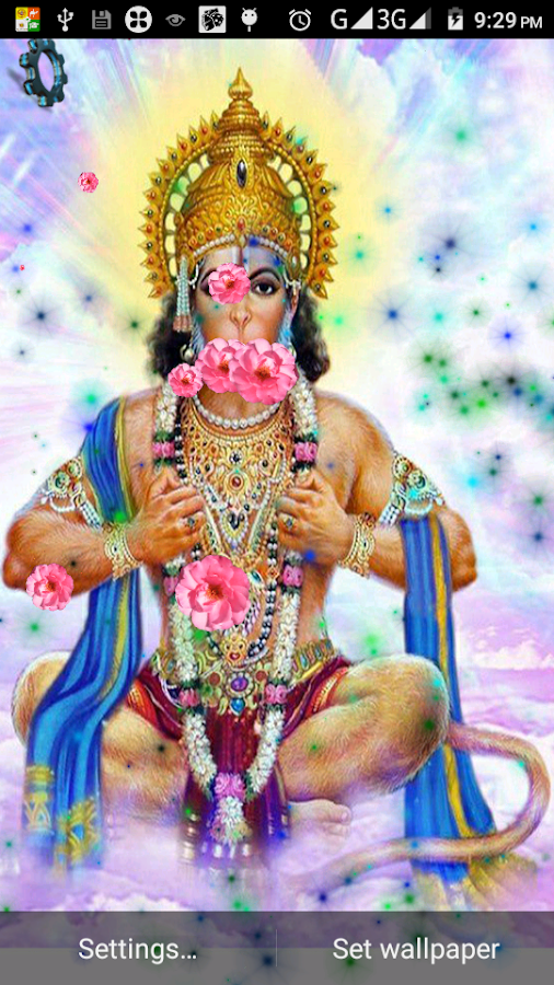 Hanuman Live HD and 3D Wallpaper - Android Apps on Google Play
