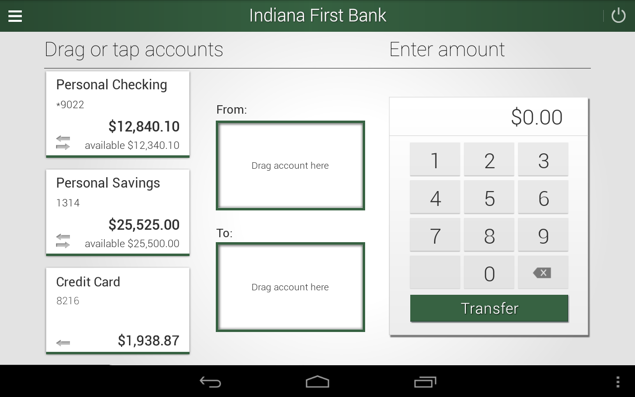 Indiana First Bank- screenshot