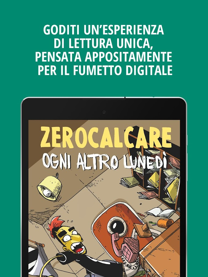 VERTICOMICS fumetto del giorno- screenshot