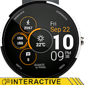 Quante Watch Face & Clock Widget