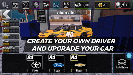 NASCAR Heat Mobile  gameplay | by HackJr.Pw 3