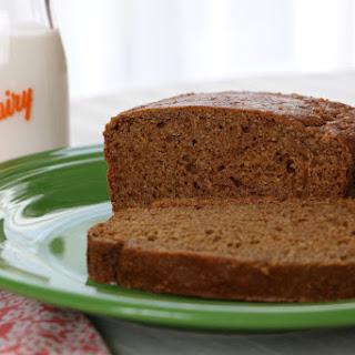 Brown Bread with Milk Kefir.