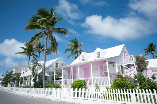 harbour-island-pink-house.jpg - Stroll around Harbour Island (near Eleuthera) and view its colorful homes during your visit to the Bahamas.