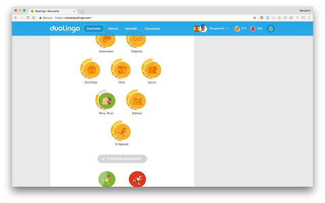 Duolingo Binge