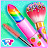 Candy Makeup Beauty Game - Sweet Salon Makeover logo
