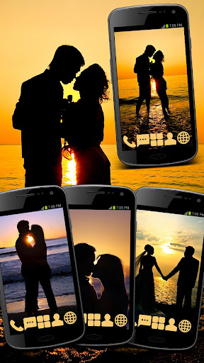 無料个人化AppのCouple in Love Theme GO ADW|記事Game